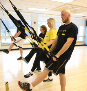 Participants in the Livestrong Program at the Torigian YMCA